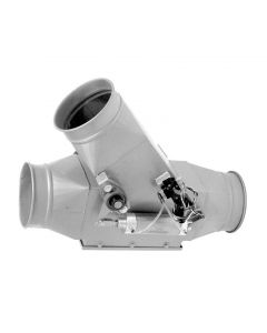 Picture of a ductwork SD Auto Diverter Valve