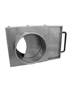 Picture of a QF ductwork Manual Blast Gate NFMES