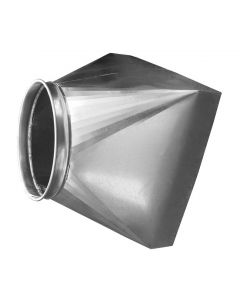 Picture of a QF ductwork Canopy Hood