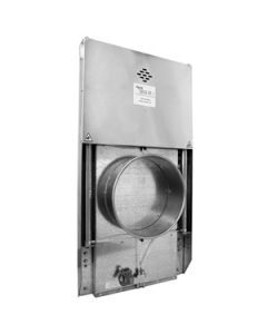 Picture of a QF ductwork Blast Gate NFES Automatic