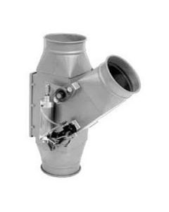 Picture of a QF ductwork Automatic Diverter Valve